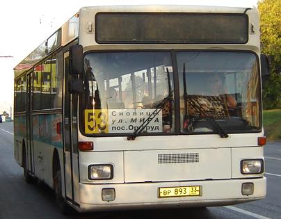 Маршрут 185 автобуса